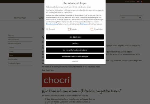 chocri Website Screenshot