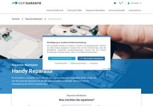 Repair my Phone Website Screenshot