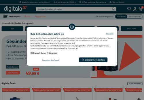 digitalo Website Screenshot