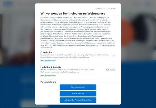 DKB AG Website Screenshot