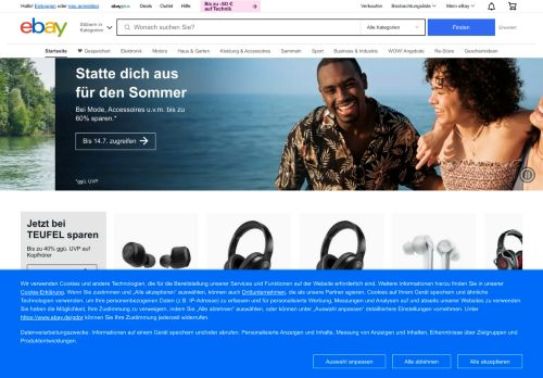 eBay Website Screenshot