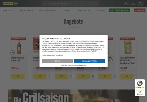 Lebensmittel.de Website Screenshot