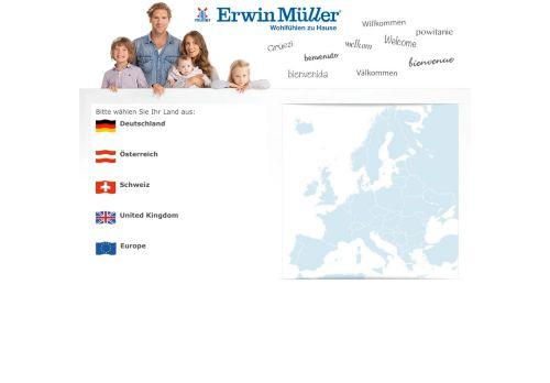 Erwin Müller Website Screenshot