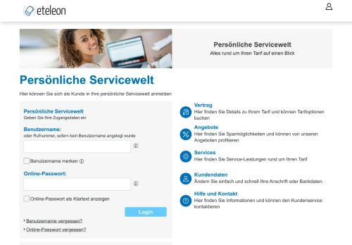 eteleon Website Screenshot