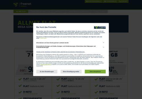 freenetmobile Website Screenshot