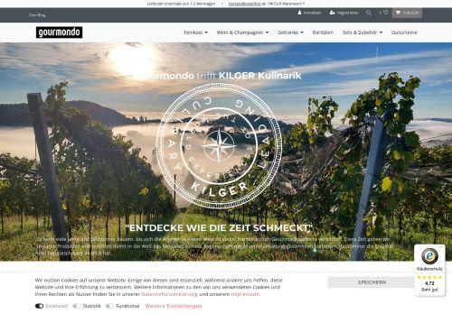Gourmondo Website Screenshot