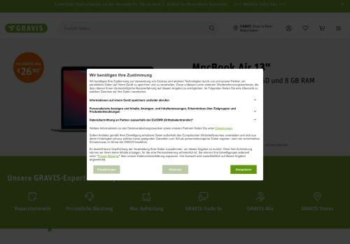 GRAVIS Website Screenshot