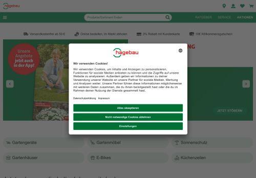 hagebau.de Website Screenshot