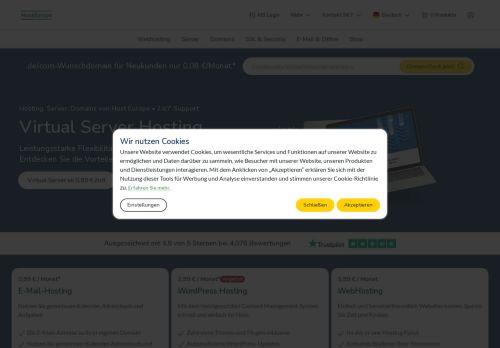 STRATO Website Screenshot