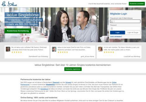 lablue Website Screenshot