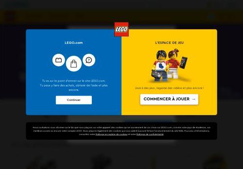 Legoland Website Screenshot