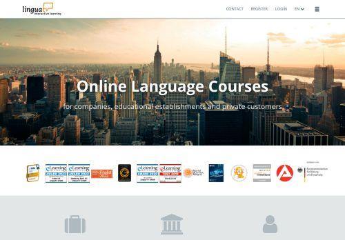Lingorilla Website Screenshot