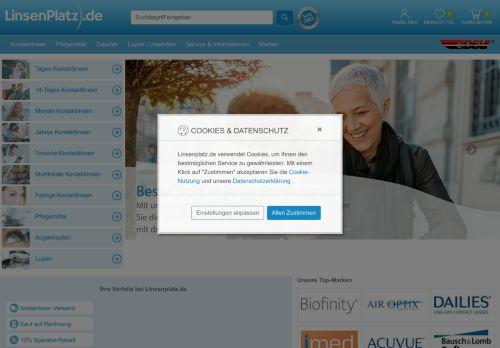 Linsenplatz.de Website Screenshot