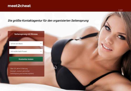meet2cheat Website Screenshot