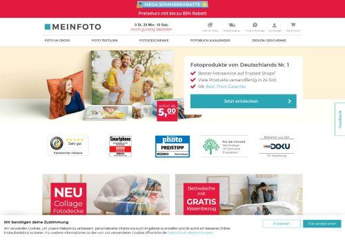 meinfoto.de Website Screenshot