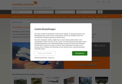Modellbau Härtle Website Screenshot
