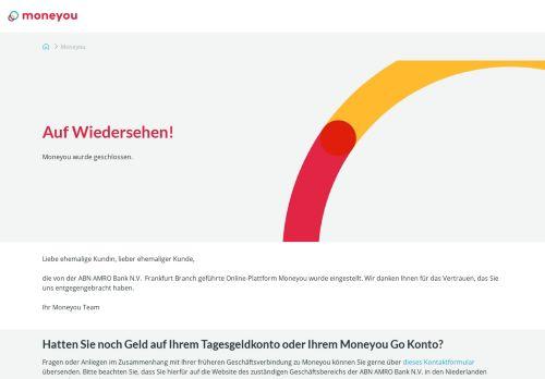 MoneYou Website Screenshot