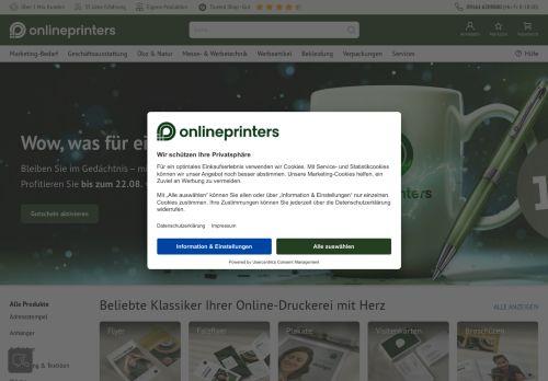 Vistaprint Website Screenshot