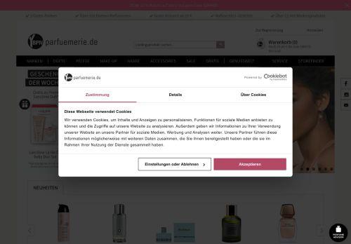 Yves Rocher Website Screenshot
