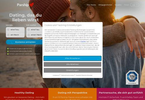 Singletreffen.de Website Screenshot