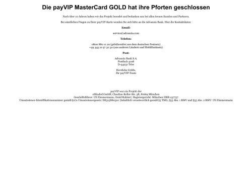 YUNA Card Website Screenshot