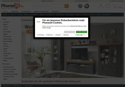 Pharao24.de Website Screenshot