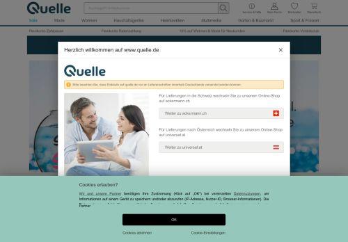 Alpenwelt-Versand Website Screenshot