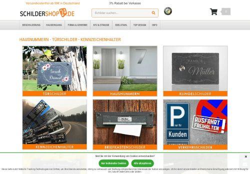 Schildershop24 Website Screenshot