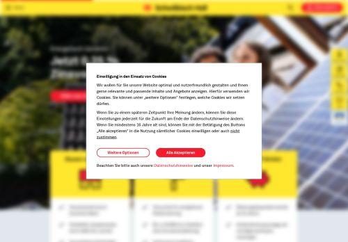 Schwäbisch Hall Website Screenshot