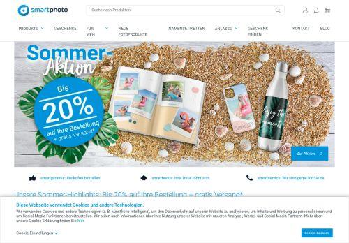smartphoto Website Screenshot