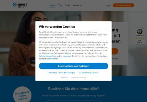 smartsteuer Website Screenshot