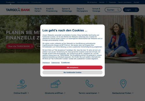 Targobank Website Screenshot
