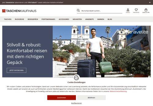 Taschenkaufhaus Website Screenshot