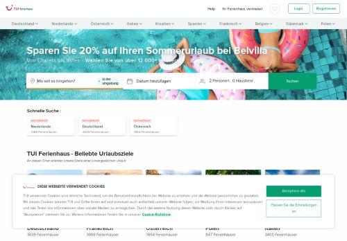 Wimdu Website Screenshot