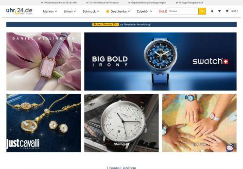 uhr24.de Website Screenshot
