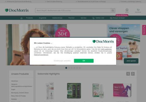 Vitalsana Website Screenshot