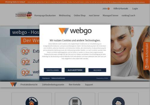Jimdo Website Screenshot