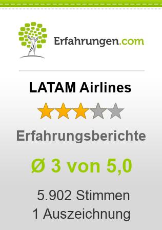 LATAM Airlines Erfahrungen