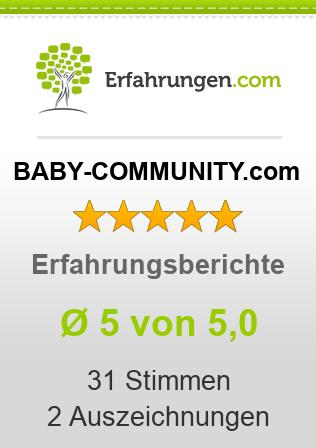 BABY-COMMUNITY.com Erfahrungen