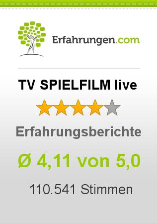 TV SPIELFILM live Erfahrungen