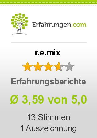 r.e.mix Erfahrungen