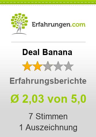 Deal Banana Erfahrungen
