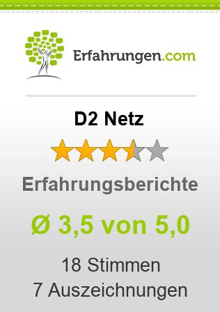 D2 Netz Erfahrungen