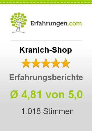Kranich-Shop Erfahrungen