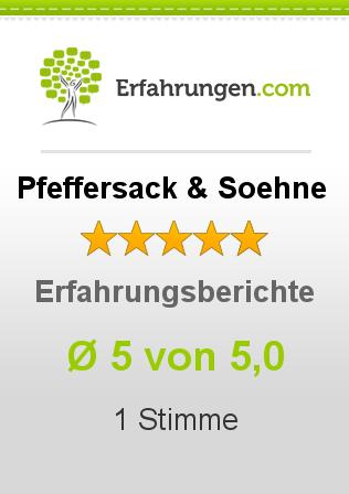Pfeffersack & Soehne Erfahrungen