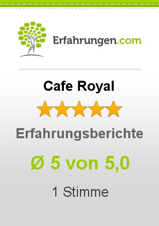 Cafe Royal Bewertungen