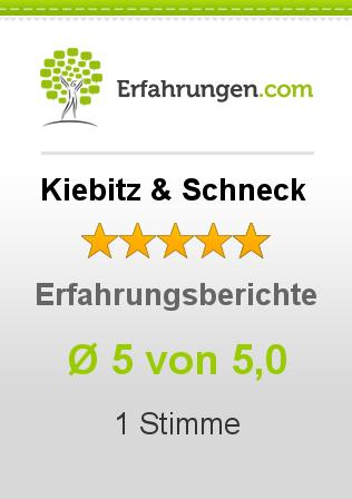 Kiebitz & Schneck Erfahrungen