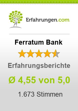 FerratumBank Erfahrungen