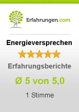Energieversprechen Erfahrungen