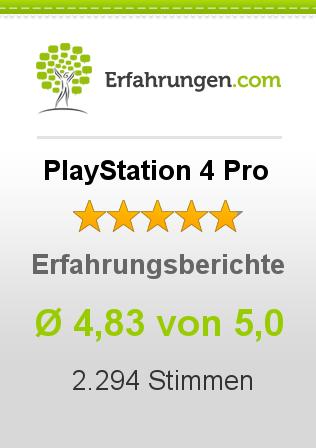 PlayStation 4 Pro Erfahrungen